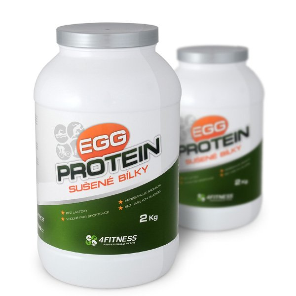 Sušené, vaječné bílky 2kg | Egg protein 880 Kč