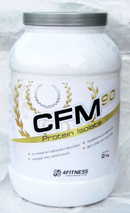 CFM Protein Isolat 90 2kg 1098Kč